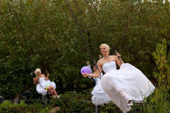 парад невест фотографии